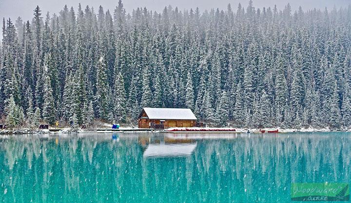 Nieve En Canadá Lake Louise